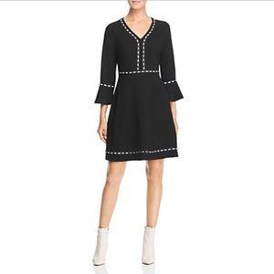 Karl Lagerfeld Dresses - Karl Lagerfeld Crepe Bell Sleeve Dress sz 6